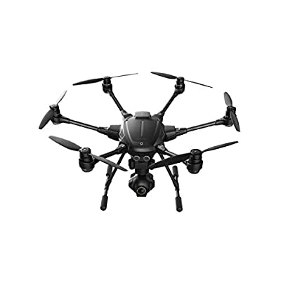 Yuneec TYPHOON H | 4K UHD CGO3+ 3 Axis Gimbal 25 Minutes Flight Aerial Videography Hexacopter in Color Box
