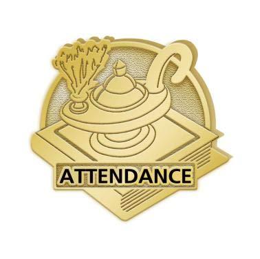 Attendance Pins - 1