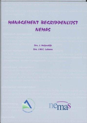 Management Begrippenlijst Nemas J.W.C. Lebens