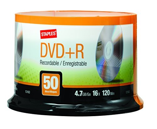 DVD + R Recordable Discs