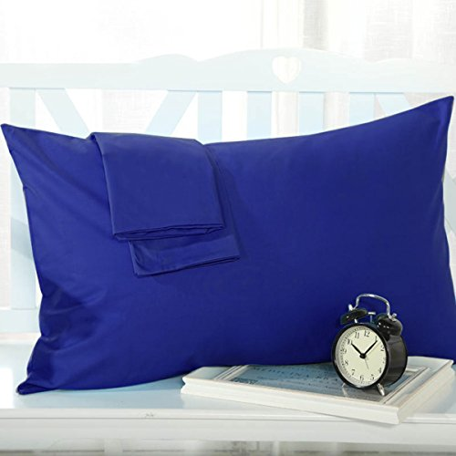 Set of 2 Pillowcases 1800 Count Pillow Case Set - Queen (Standard) New