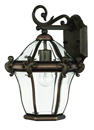 Hinkley 2440CB Traditional One Light Wall Mount from San Clemente collection in Copperfinish,