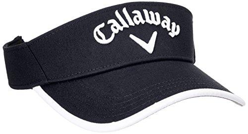 (キャロウェイ アパレル) Callaway Apparel [ メンズ] 定番 ロゴ入り サンバイザー (サイズ調整) / 247-8990603 / 帽子 ゴルフ