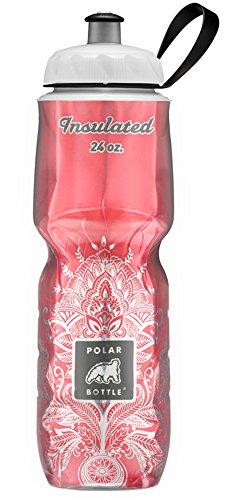 Polar Bottle Amazon Exclusive Insulated Water Bottle - 24oz. (Cherry Henna)
