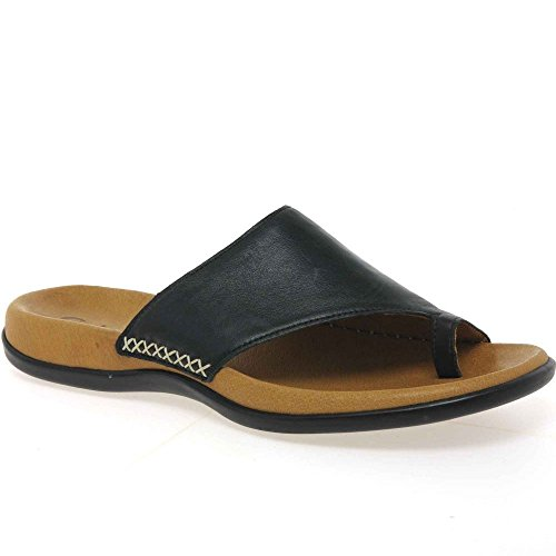 Shoes Mujer Gabor Para Zuecos Gabor Negro OT88z1x