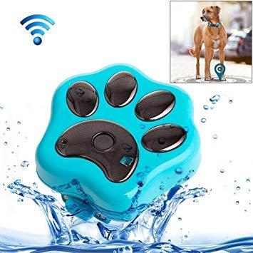 Uniqus REACHFAR RF-V30 Waterproof IP66 Anti-Lost WiFi GSM Smart GPS Tracker for Pet(bluee)