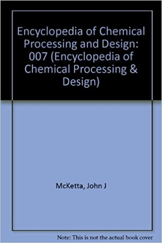 encyclopedia of chemical processing and design mcketta