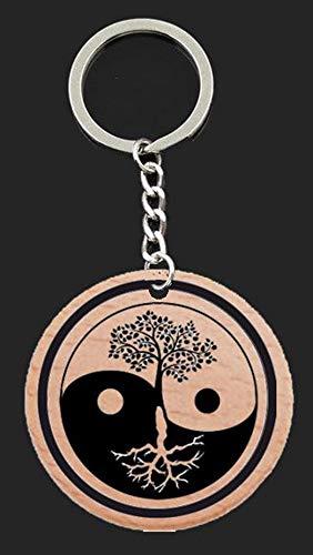 Llavero yin yang arbol de la vida: Amazon.es: Handmade