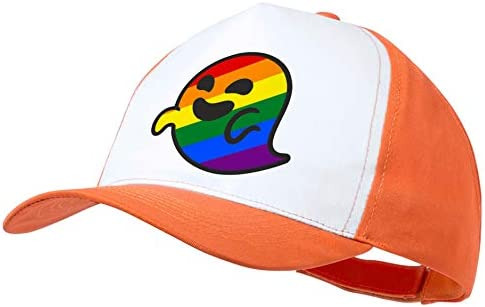 MERCHANDMANIA Gorra Naranja GAYSPER Fantasma Gay VOX Color Cap ...