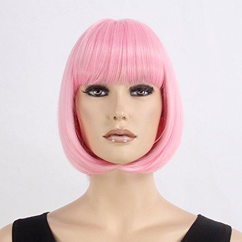 [STfantasy Wigs for Women Short Hair Cosplay Synthetic Bob Wig 12