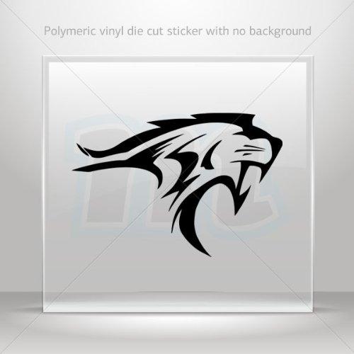 Decals Decal Lynx Wildcat Car Door Hobbies Waterproof Racing Black (14 X 9.57 ()