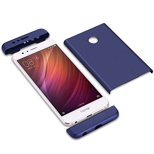 8 Shell Case 360 Huawei Coque 1 Argent vanki 3 Honor pour Degres Protector Souple 8 en Rigide Honor Lger rouge Ultra PC Rcurer Huawei xn1CCqwH8T