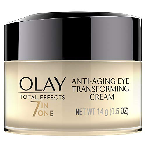 Eye Cream by Olay Total Effects 7-in-one Anti-Aging Transforming Eye Cream 0.5 oz Packaging may Vary (Best Drugstore Dark Circle Cream)