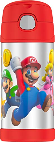Thermos F4019MBG6 Super Mario Brothers Funtainer 12 Ounce Bottle from Thermos
