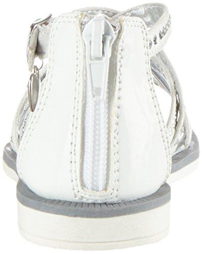 Asso ASSOSandal - Sandalias de Gladiador Niñas Blanc (white)