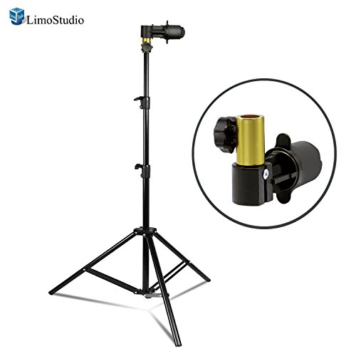 LimoStudio Photo Video Photography Studio Background and Reflector Disc Holder Clip with Light Stand, Quick and Easy Install, AGG2420 by LimoStudio