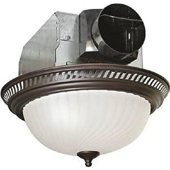 Broan 754rb Decorative Ventilation Fan And Light 70 Cfm 3 5 Sones Oil Rubbed Bronze Built In