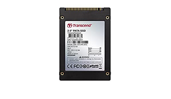 Transcend TS2GPSD520 - Disco Duro sólido Interno SSD de 2 GB (SSD ...