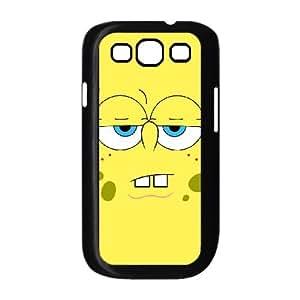 Samsung Galaxy S3 9300 Cell Phone Case Black Sponge Bob 001 SYj_877631