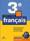 Chouette Entraînement : Français, de la 3e à la 2nde - 14-15 ans (+ corrigés)