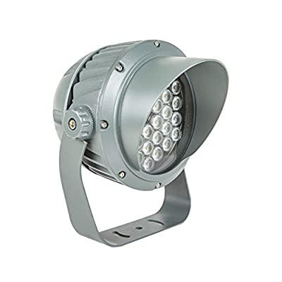 Julitech 5W-54W LED Flood Light, Waterproof IP65, 5400Lm, Super Bright Outdoor LED Flood Lights For Playground, Garage, Garden, Lawn And Yard Model