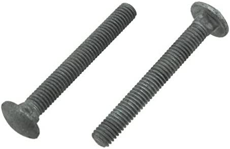 3//8-16 x 5-1//2 FT Qty-25 Carriage Bolt Hot Dipped Galvanized