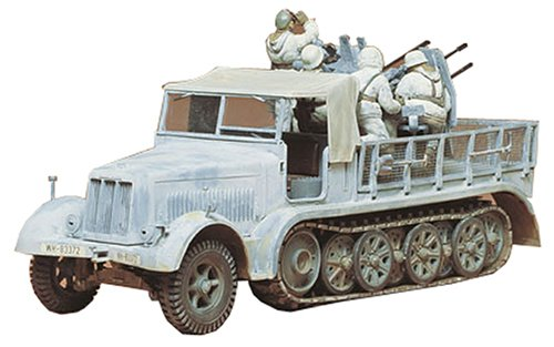 (Tamiya 1/35 Scale German 8 Ton Semi Track 20mm Flakvierling Sd Kfz 7/1)