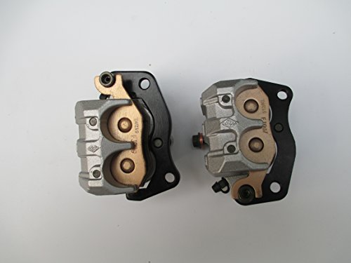New LEFT & RIGHT FRONT BRAKE CALIPER SET FOR YAMAHA RHINO 660 450 YXR 660 2004-2007 by USonline911 (Image #6)