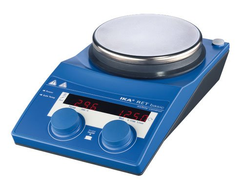 IKA 3622001 RET Basic IKAMAG Safety Control Stainless Steel, Magnetic Stirrer, Hotplate, 115V - Ika Hot Plate