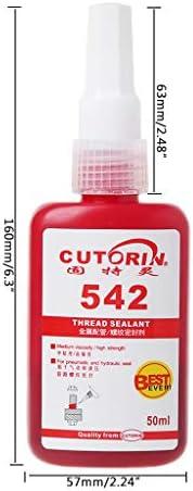 Gjyia High Strength 542 Gewindedichtmittel Metallrohr Schraubensicherungskleber