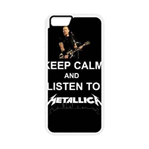 Metallica iPhone 6 Plus 5.5 Inch Cell Phone Case White yyfabd-370755