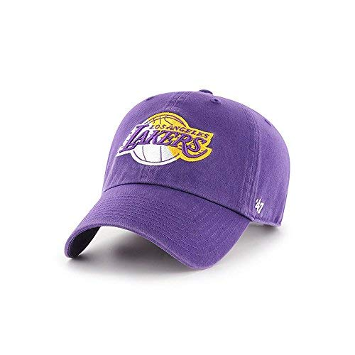 (47 Brand Los Angeles Lakers Split Clean Up Slouch Fit Hat)
