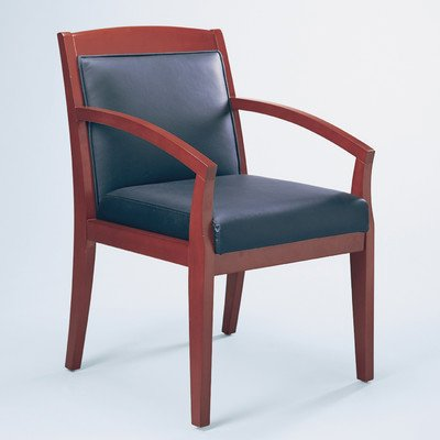 Chair,Guest,Veneer/LTHR,SCY - Sierra Cherry Guest Chair