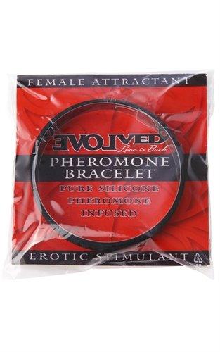 Imperméable à l'eau a évolué de phéromone Bracelet Attractant femelle - noir