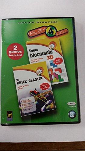 Super Blocmania 3D & 3D Brick Blaster