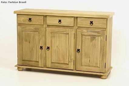 Credenza Antica Per Cucina : Brasilmöbel credenza credenzina in legno di pino massello rovere