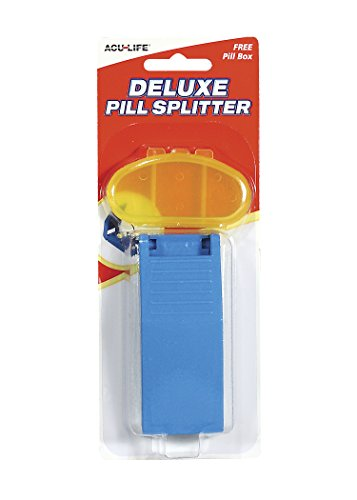 Acu-Life Pill Splitter and Daily Pill Box