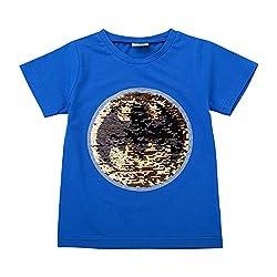 Superman Flip Sequin Magic Cotton T-Shirt