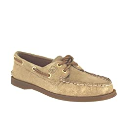 Sperry Top-Sider Women\'s A/o Boat Shoe,Gold,6 M US