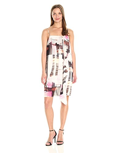 Cornell Sheer Connection Multi Nectar Dress Women's French Neon 4Fftxnw