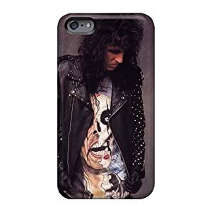 Anti-Scratch Hard Phone Covers For Iphone 6plus With Custom Stylish Alice Cooper Band Skin TimeaJoyce