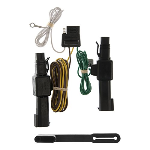 (CURT 55317 Vehicle-Side Custom 4-Pin Trailer Wiring Harness for Select Dodge Ram, Dodge Dakota Pickup Trucks)