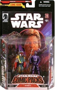 Star Wars Expanded Universe Exclusive Action Figure 2-Pack Boba Fett /& RA-7 Droid