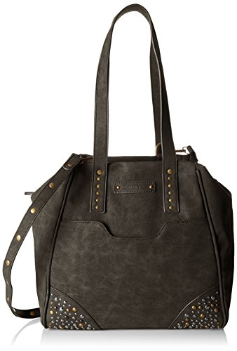Winchester 3 Bolsos noir Negro Mujer Totes Scooter ZpUzx6Fqq