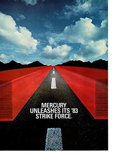 - Magazine Print Ad: 1983 Mercury Cars, Lynx-LN7-Capri,