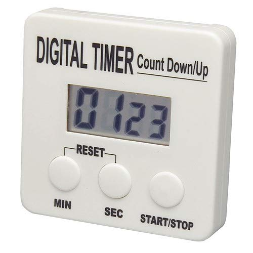 Bel-Art Products 61700-2600, DURAC Electronic Timer, 99Minute:59Second (Pack of 15 pcs)