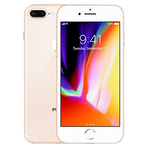 Apple iPhone 8 Plus, 64GB, Gold - Fully Unlocked (Renewed)