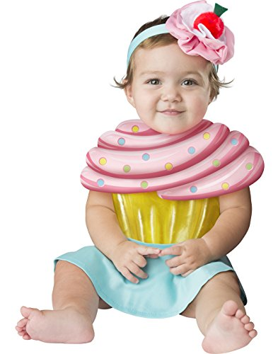 Fun World Baby Girls' Cupcake Cutie, Multi -