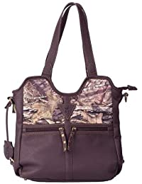 Browning Carson Camouflage Concealed Carry Medium Handbag (Mossy Oak Country Camo, Brown, 10.5