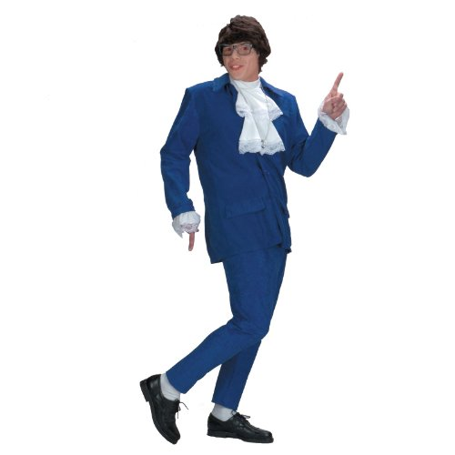 Austin Powers Costume Deluxe (Austin Powers Costume Accessories)